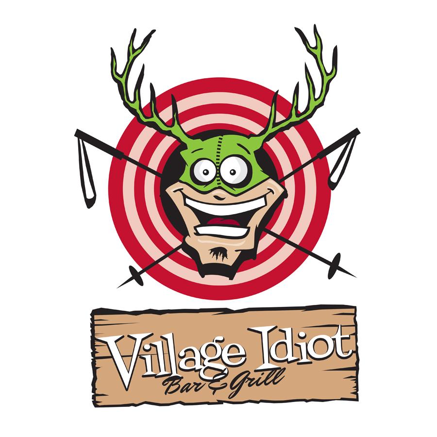 Village idiot - main logo